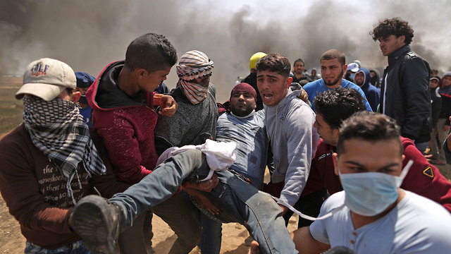 Газа, 6 апреля. Фото: AFP