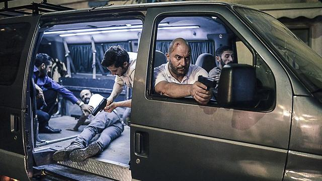 Israeli made television thriller Fauda has been targeted by BDS, which exerted pressure on Netflix to take it off the air (Photo: Netflix)
