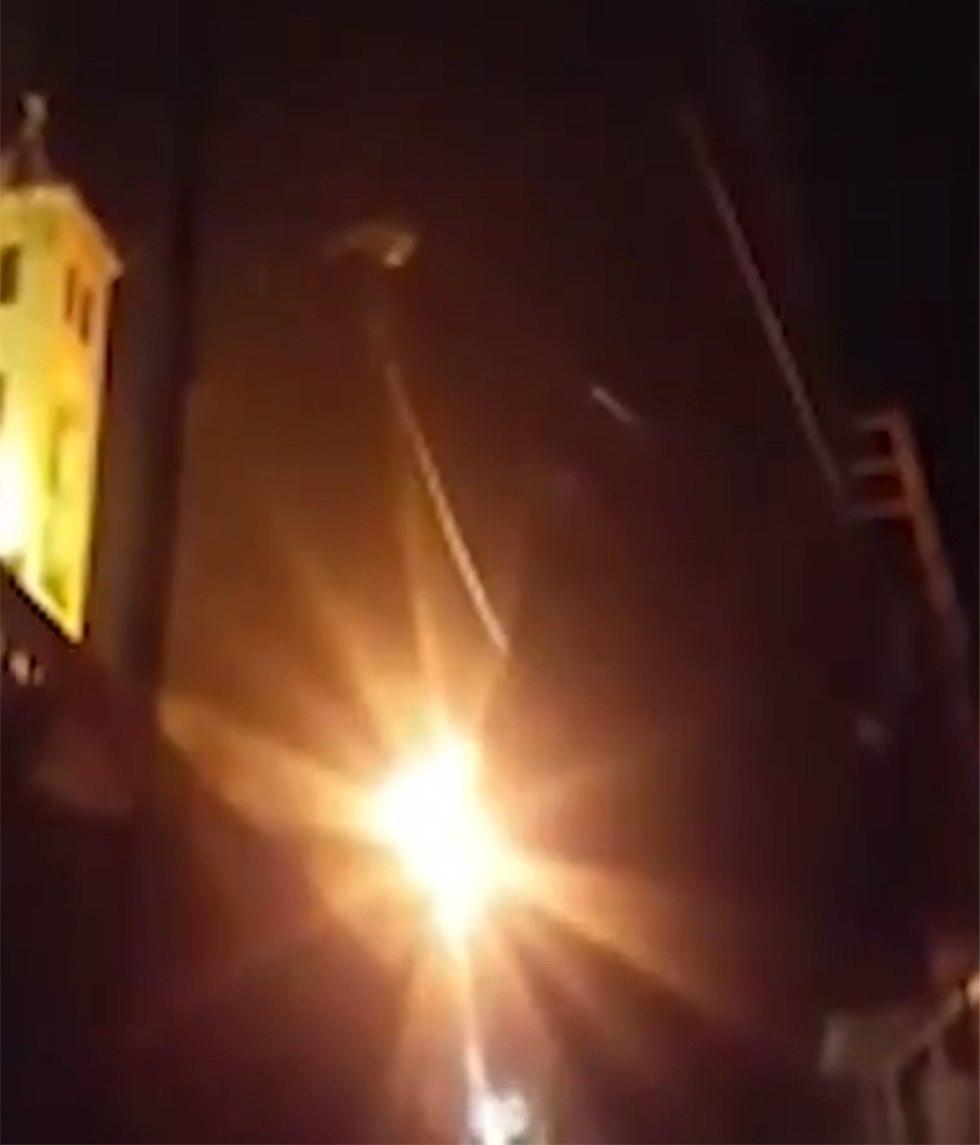 תקיפה ב סוריה חומס ()
