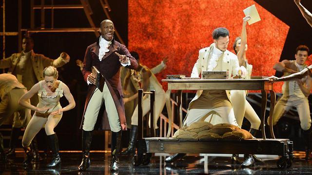 מחזמר המילטון  (צילום: Jeff Spicer/GettyImages IL)
