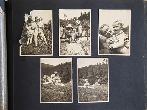 בהרים ליד ביילסקו, אוגוסט 1939, רגע לפני המלחמה (צילום: אלבום משפחתי)