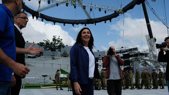 Miri Regev at the event in 2018