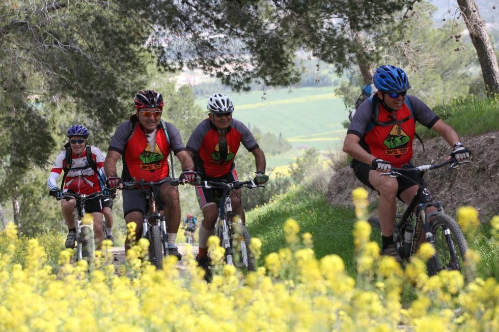 מסלולי אופניים (צילום: יואב לביא)