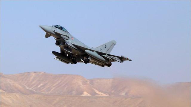 Самолет ВВС Италии. Фото: пресс-служба ЦАХАЛа
