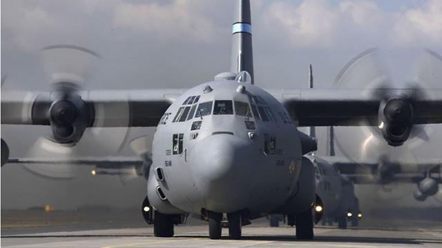 מטוס פולין C-17 מטס יום העצמאות (קרדיט: דובר צה