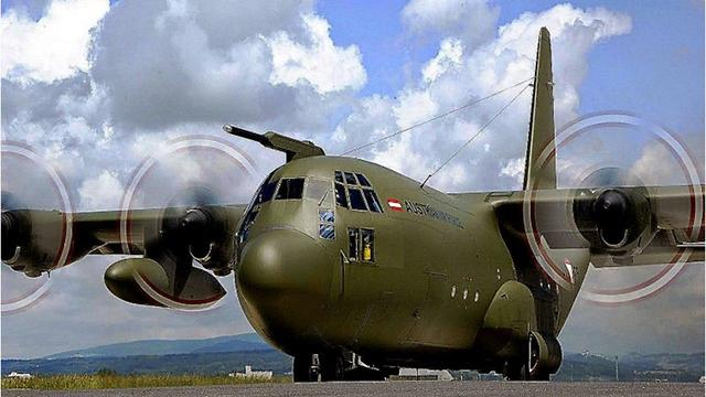 Самолет ВВС Австрии. Фото: пресс-служба ЦАХАЛа