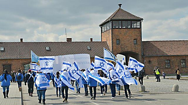 Jewish youth at the Auschwitz death camp in Poland (Photo: Yossi Zeliger)