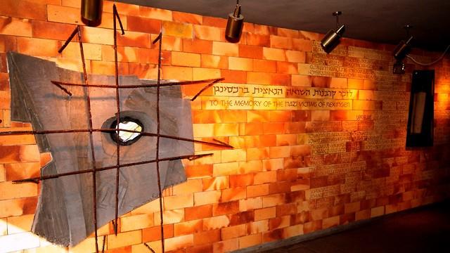 פינת ההנצחה בבית העם בשבי ציון (צילום: אוצרות הגליל)
