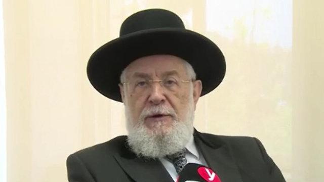 הרב ישראל מאיר לאו (צילום: אלכס גמבורג, אלי סגל)