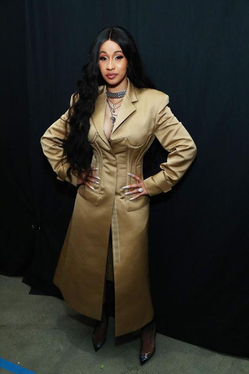בתצוגת האופנה של פראבל גורונג בניו יורק (צילום: Astrid Stawiarz/GettyimagesIL)