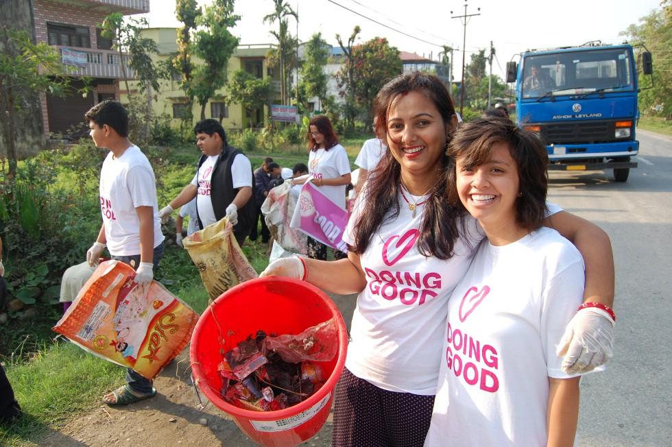 יום מעשים טובים בנפאל