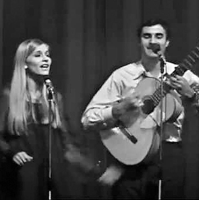 אילן ואילנית. המשיכו לשיר ביחד גם אחרי שהתגרשו