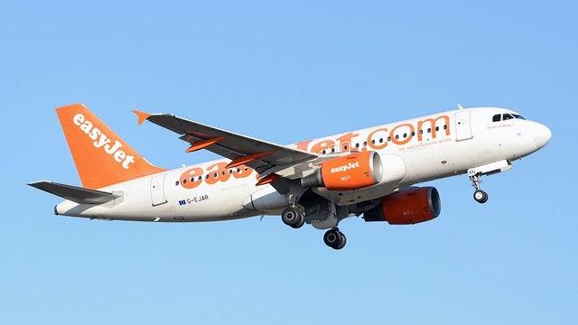 מטוס איזיג'ט (צילום: שאטרסטוק)