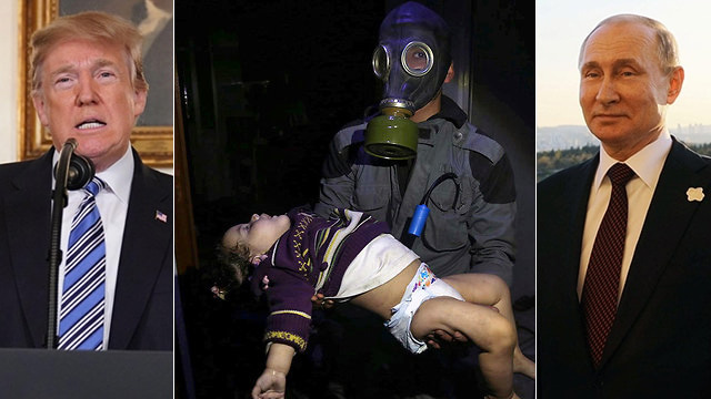 Trump and Putin. Russia and the US blocked attempts by each other in the UN Security Council on Tuesday to set up international investigations into chemical weapons attacks in Syria