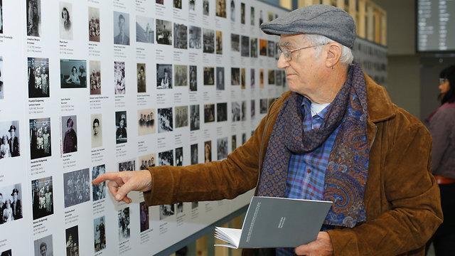 תערוכה ילדי הולנד שנרצחו בשואה (צילום: יעקב מדר)
