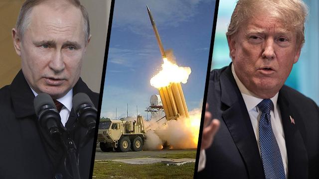 טראמפ פוטין טיל אמריקאי ()