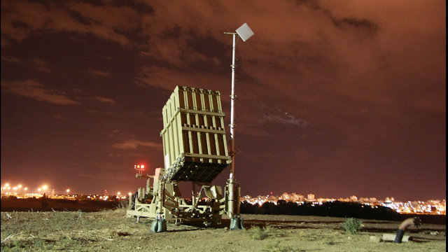 """Батарея системы """"Железный купол"""". Фото: Шауль Голан"""