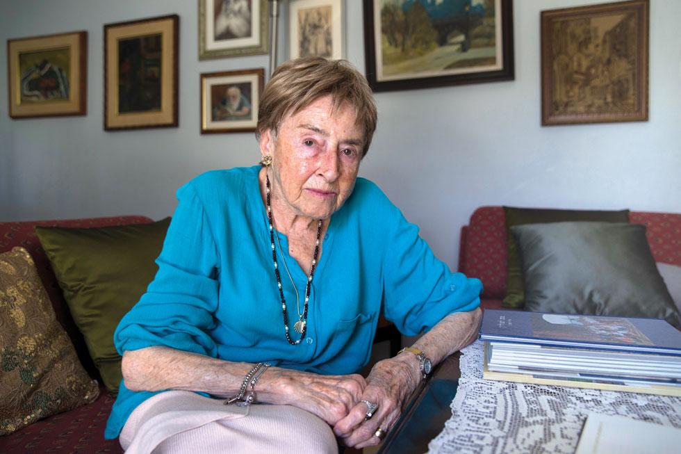 """ד""""ר ג'יזל סיקוביץ. """"חייתי באמריקה 44 שנים ואף אחד לא שאל אותי על השואה. זה לא עניין אף אחד. אושוויץ הייתה ונשארה השואה שלי"""" (צילום: עמית שאבי)"""