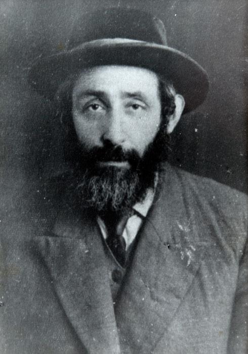 האב, וולף פרידמן (צילום: אלבום פרטי)