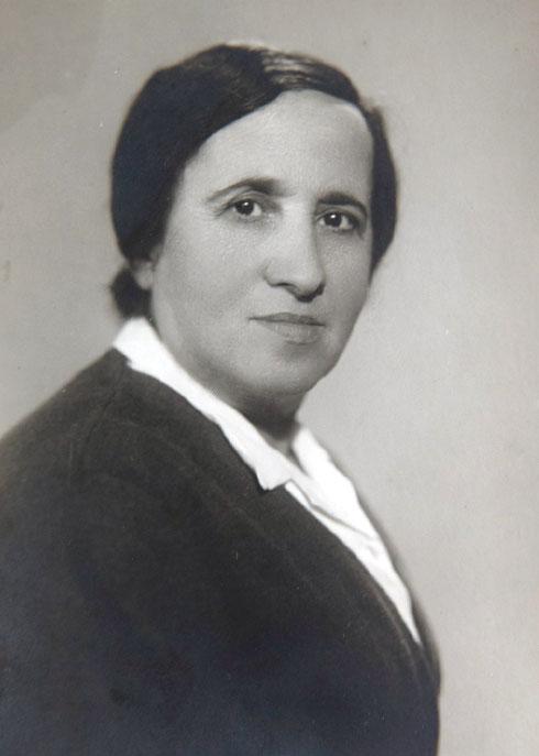 האם, חנה פרידמן (צילום: אלבום פרטי)
