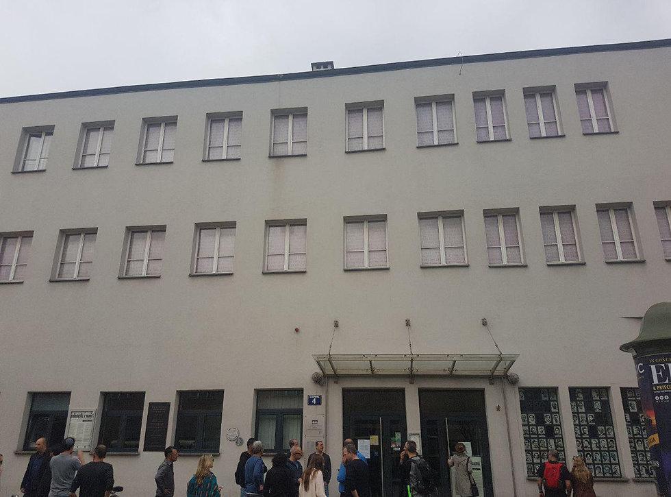 מפעלו של אוסקר שינדלר בקרקוב (צילום: רון נוטקין)