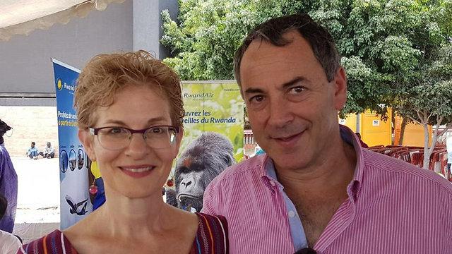 פול הירשון ואשתו ג'יני הריסון ()
