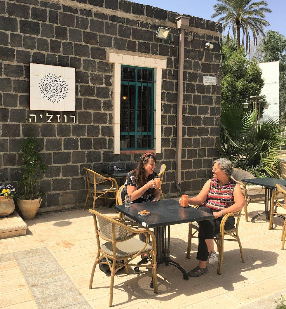 בית קפה רוזילה (צילום: יעל לרנר)