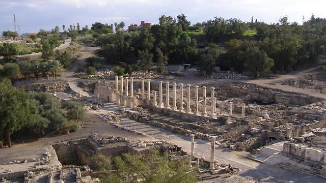 הגן הלאומי בית שאן (צילום: ויקי פבלוב, מתוך ויקיפדיה)