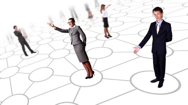 רשת חברתית (אילוסטרציה: Shutterstock)