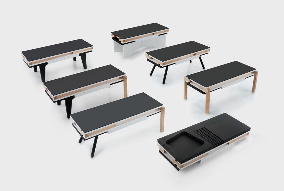 עוד בסופרסטודיו: תערוכה שהיא מחווה אירונית לאיקאה: 18 מעצבים משש מדינות יציגו רהיטים באריזה שטוחה, המיועדים להרכבה עצמית. בתמונה: הפרויקט של דב גנשרוא (צילום: לייפ קומוניקה)