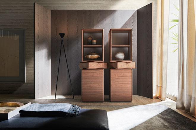 עיצוב של רון גלעד לחברת הרהיטים Molteni, ביריד (צילום: רון גלעד)