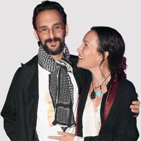 עם בן הזוג, צח בר (צילום: אביב חופי)