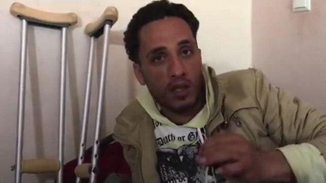 Tamer Abu-Daka, 28, claimed to be the Palestinian from the video and said he was incensed with the soldiers mocking him