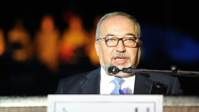Defense Minister Lieberman (Photo: Avi Roccah)