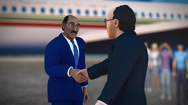 סרט אנימציה הסברה של משרד החוץ (צילום: משרץ החוץ)