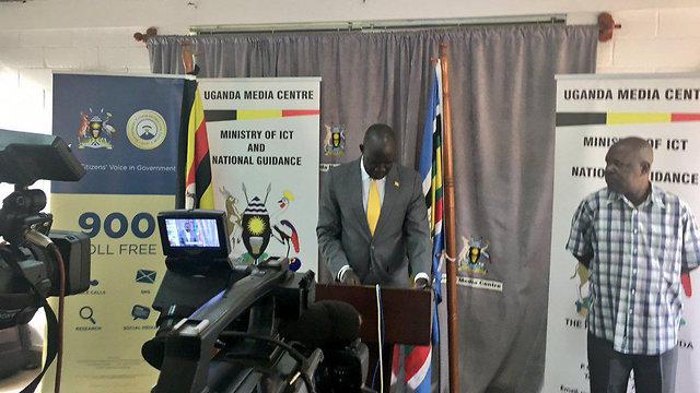 Министр по делам беженцев в Уганде