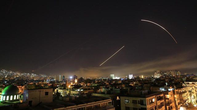 US-led strike in Syria