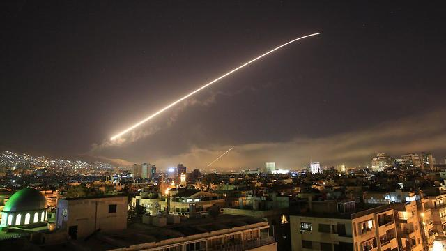 The strikes against Syrian facilities Saturday were overly cautious (Photo: AP)