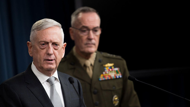 US Defense Secretary Mattis (Photo: EPA)