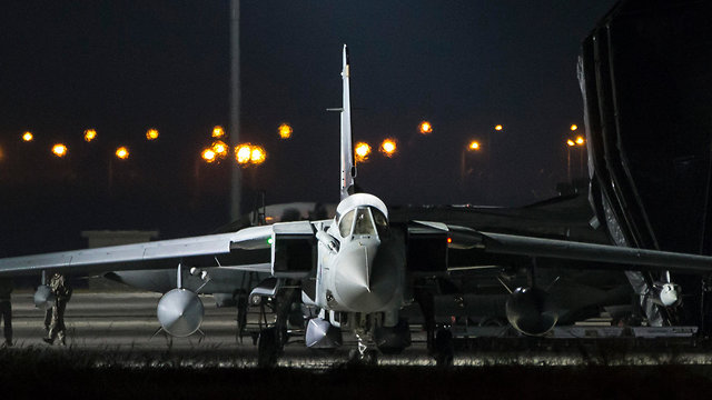 Royal Air Force Tornado jet before leaving for Syria strike (Photo: EPA)