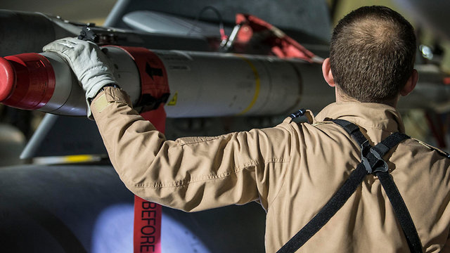Britian used Storm Shadow missiles in Syrian strike (Photo: EPA)