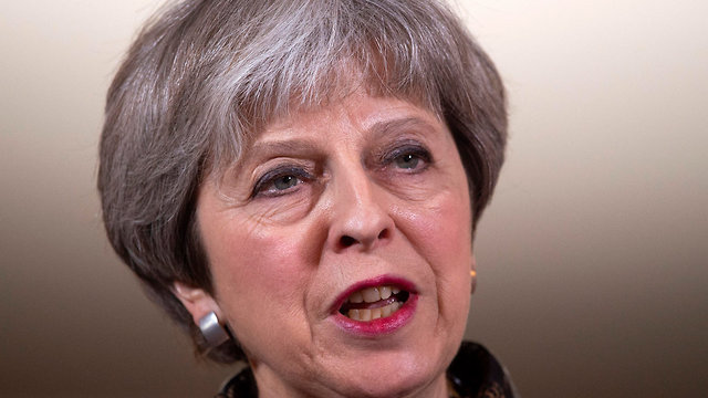 British PM May said strike was intended to deter further use of chemical weapons (Photo: EPA)