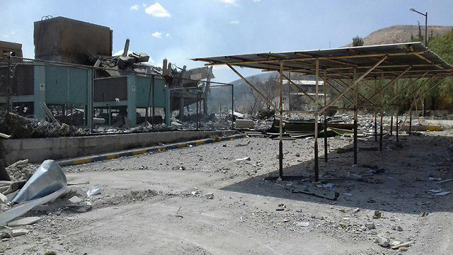 Scientific research center in Damascus destroyed in strikes
