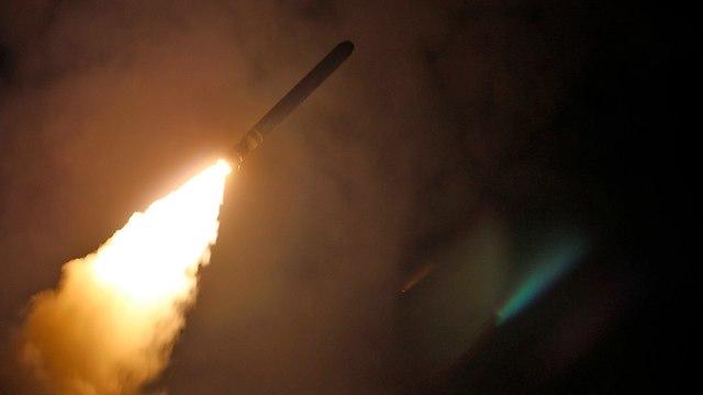 Ракетный удар по Сирии. Фото: АР