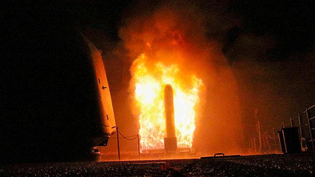 טיל טומהוק (צילום: AFP)