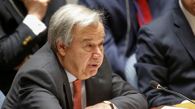 Sect.-Gen. Guterres was asked by the 10 members to deliver reports on resolution's implementation in written form (Photo: AFP)
