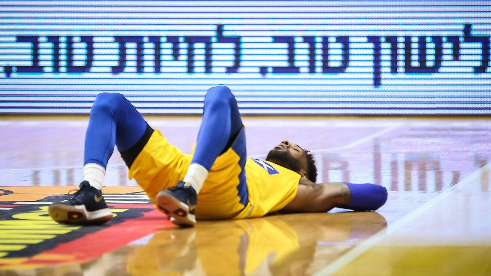 מכבי תל אביב גלבוע/גליל דיאנדרה קייין  (צילום: עוז מועלם)