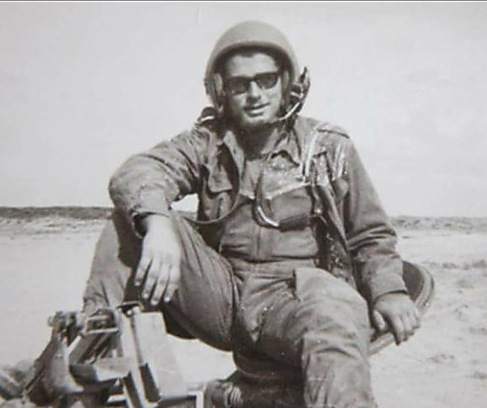 יצחק דרקסלר במהלך השירות הצבאי