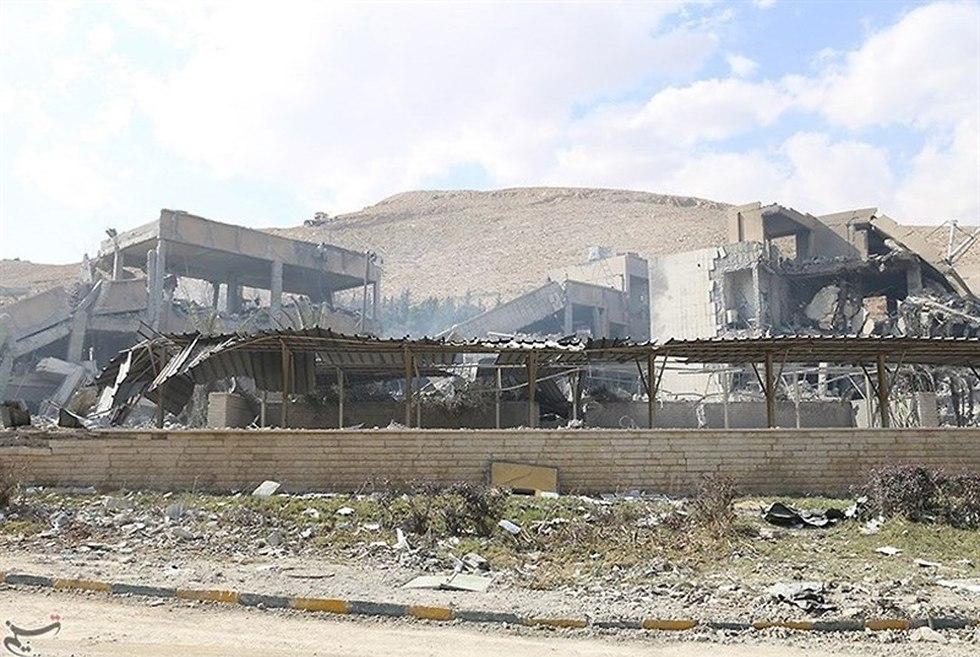הרס מכון מחקר ברזא סוריה ()