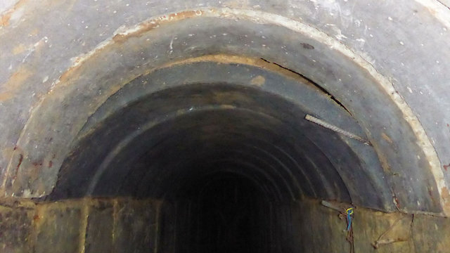 The Hamas tunnel exposed and destroyed by the IDF (Photo: IDF Spokesperson's Unit)
